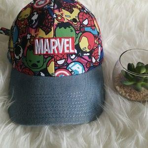 Marvel Cute Superheros Dad's Hat